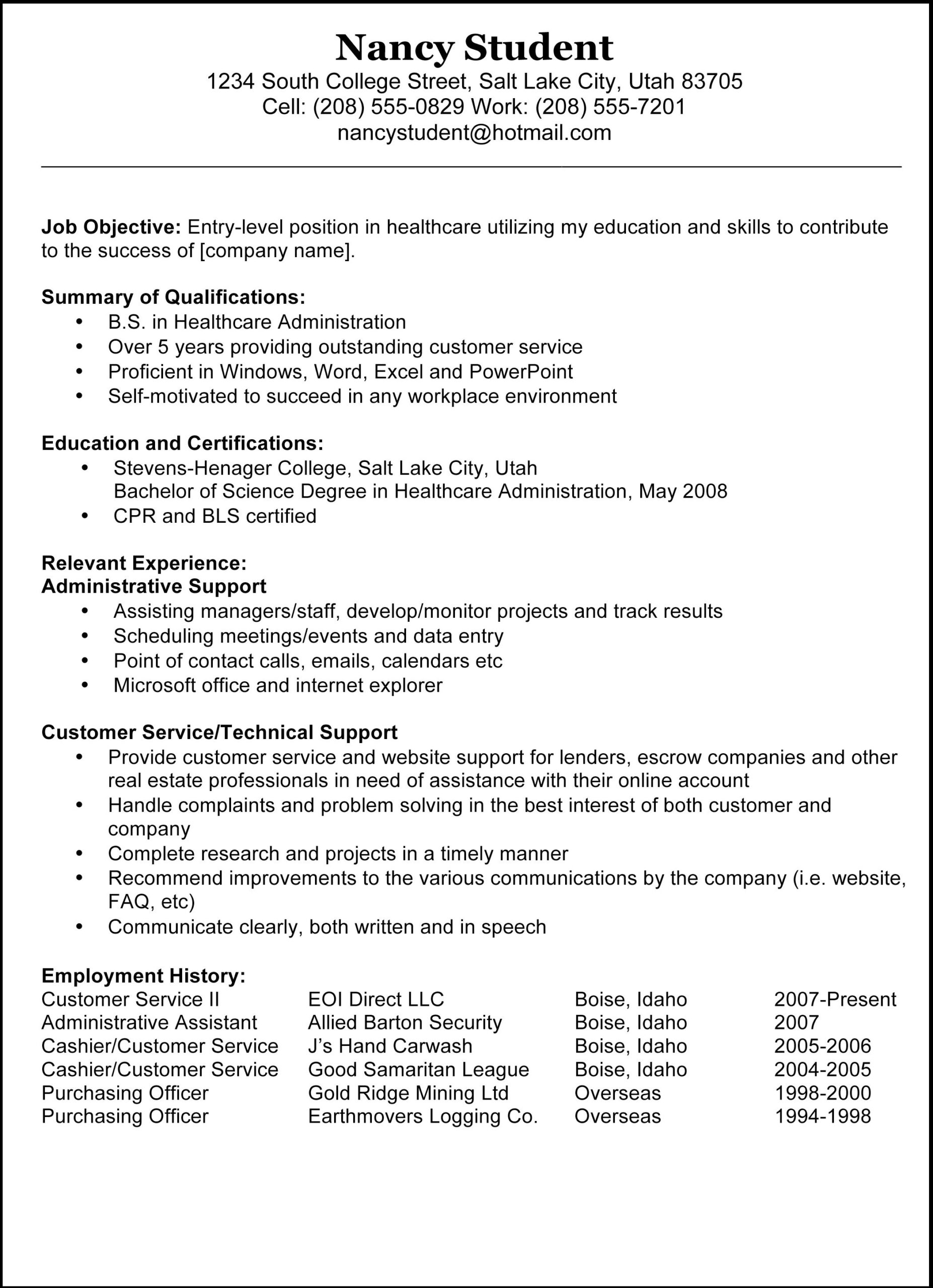 type resumes and cover letters fiverr sample resume templates objective examples good Resume Copy Of A Resume Sample