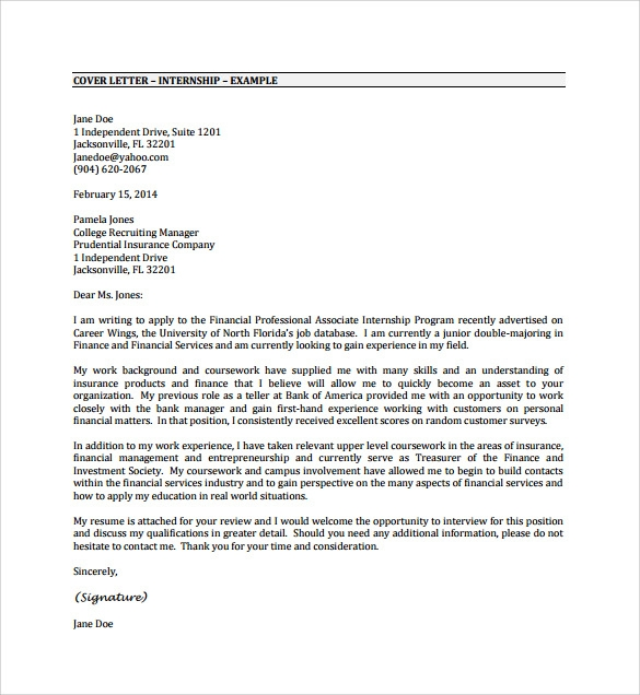 uncategorized example internship cover letter pdf free template examples for resumes Resume Resume Examples Pdf Free Download