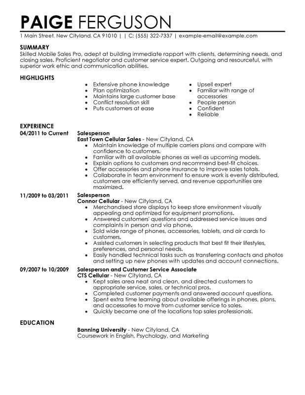 unforgettable pro resume examples to stand out myperfectresume build customer service Resume Build A Resume Customer Service Number