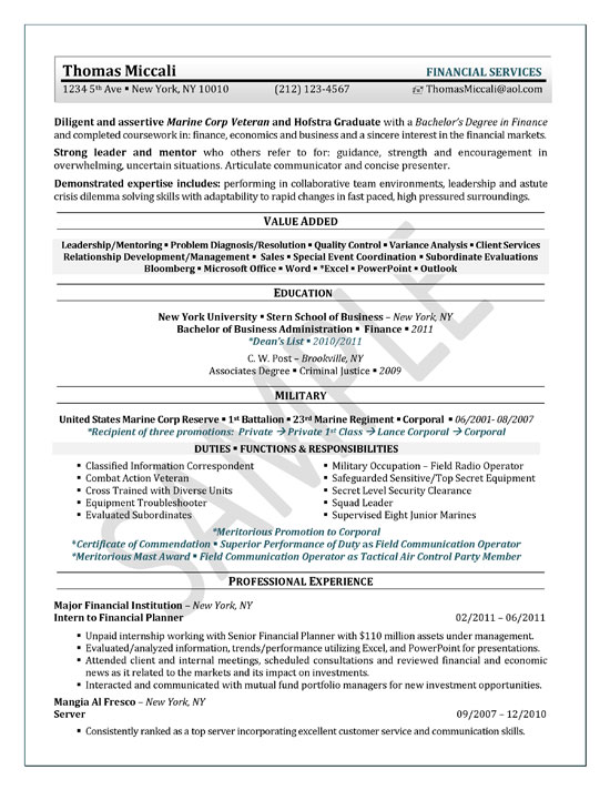 university student resume example sample summary for college internship senior executive Resume Summary For Resume College Student