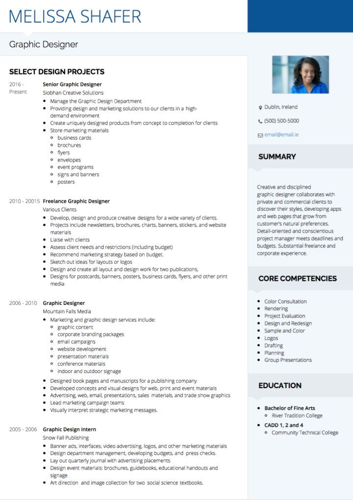 visualcv artist cv examples and template graphic design resume commercial nagios Resume Commercial Artist Resume
