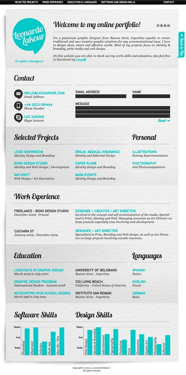 ways to make your social media resume look awesome wordstream template creative modern Resume Social Media Resume Template