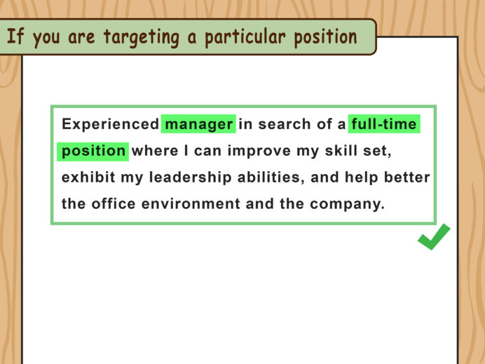 ways to write resume objectives wikihow writing great objective for step purpose of Resume Writing A Great Objective For Resume