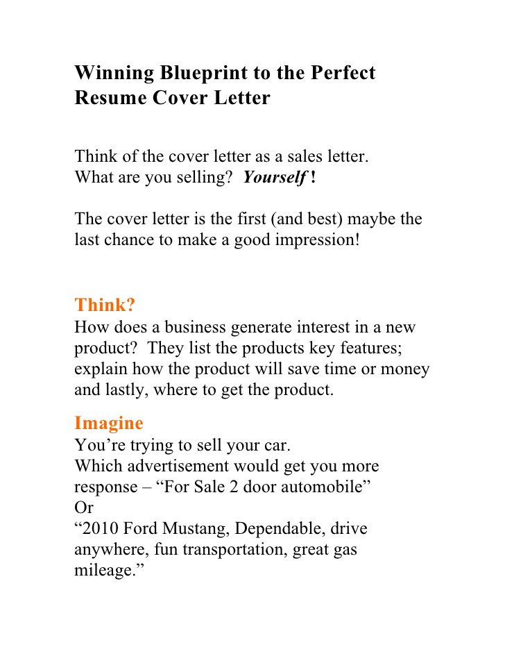 winning blueprint to the perfect resume cover letter great letters assistant property Resume Great Resume Cover Letters