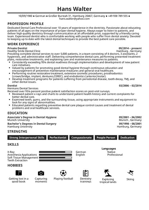with dentist resume examples format for paramedic objective softball player template Resume Resume Format For Dentist