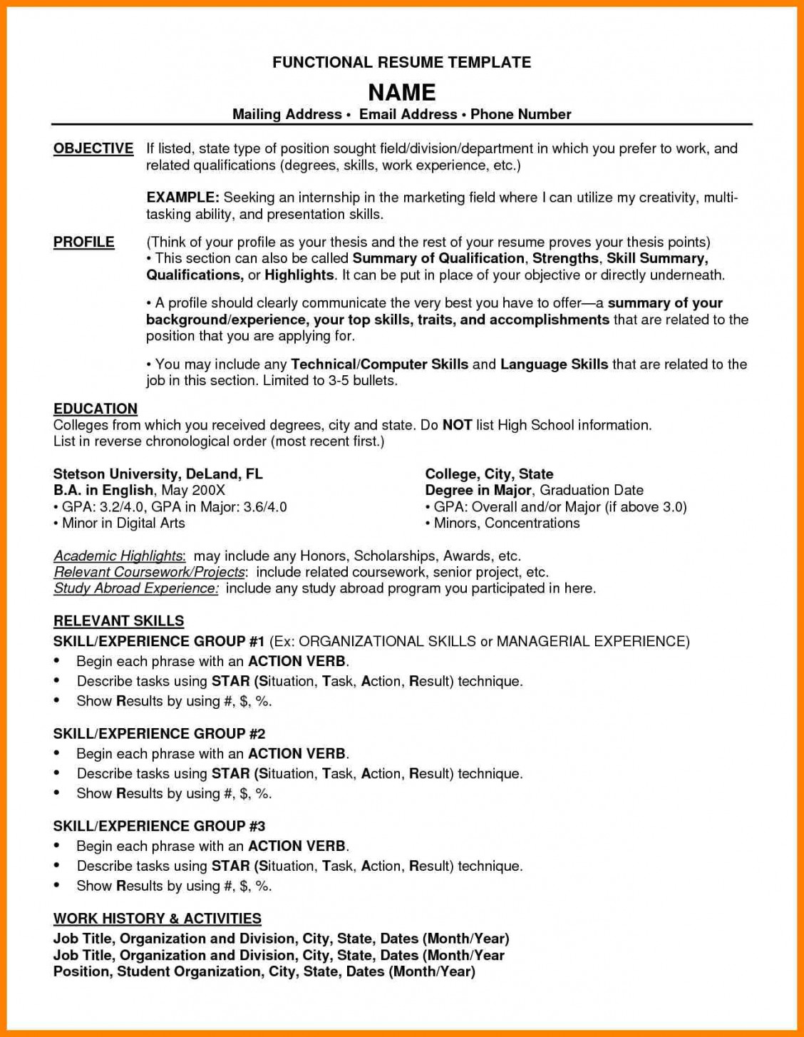 word combination resume template builder example sample pdf letter adress icu technical Resume Combination Resume Sample