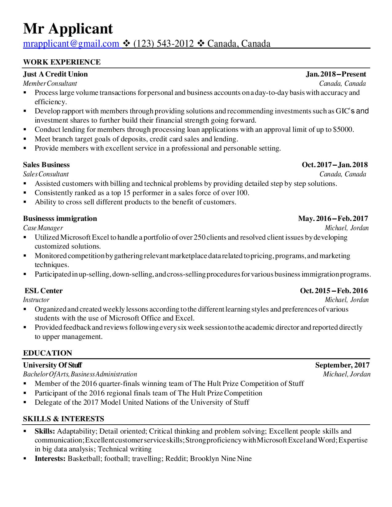 years old trying to find jobs in accounting and then work towards my cpa going forward Resume Resume Interests Reddit