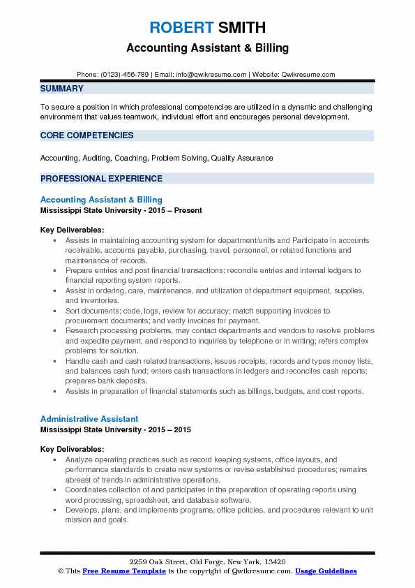 accounting assistant resume samples qwikresume accountant achievements pdf meaning Resume Assistant Accountant Achievements Resume