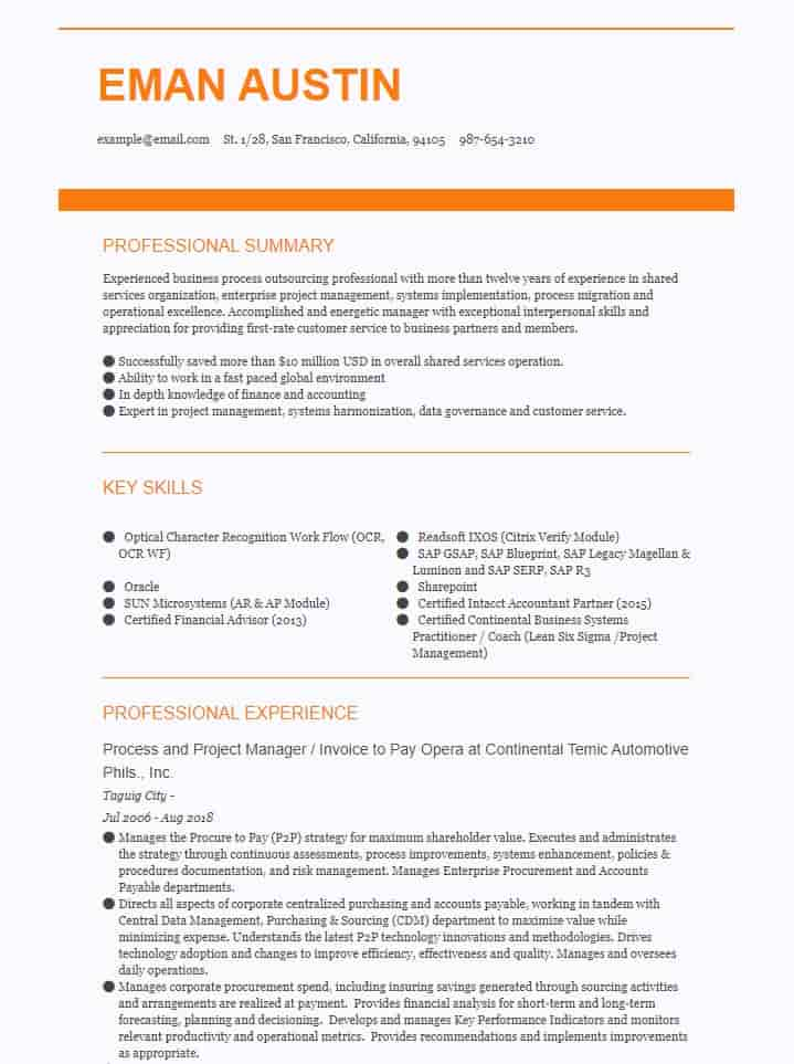accounting finance resume examples now and example recommended medical esthetician apply Resume Accounting Resume Examples 2020