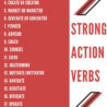 action oriented words you can use on your resume today strong verbs for strongverbslist Resume Strong Action Verbs For Resume