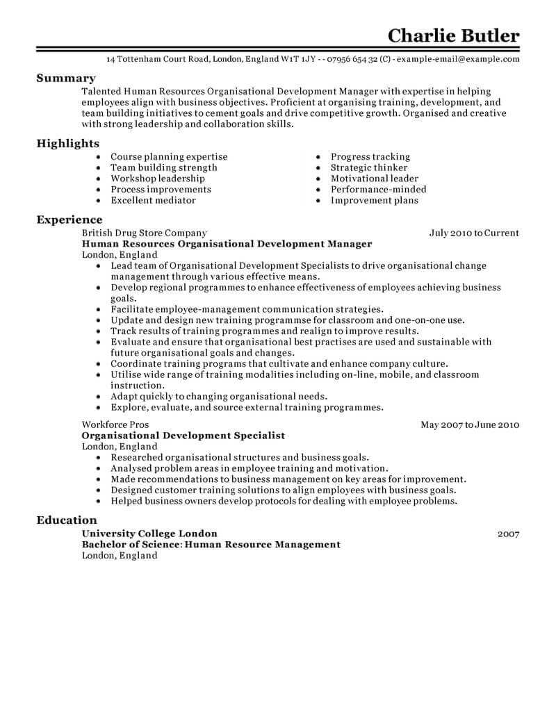 amazing human resources resume examples livecareer services with no experience Resume Human Services Resume With No Experience
