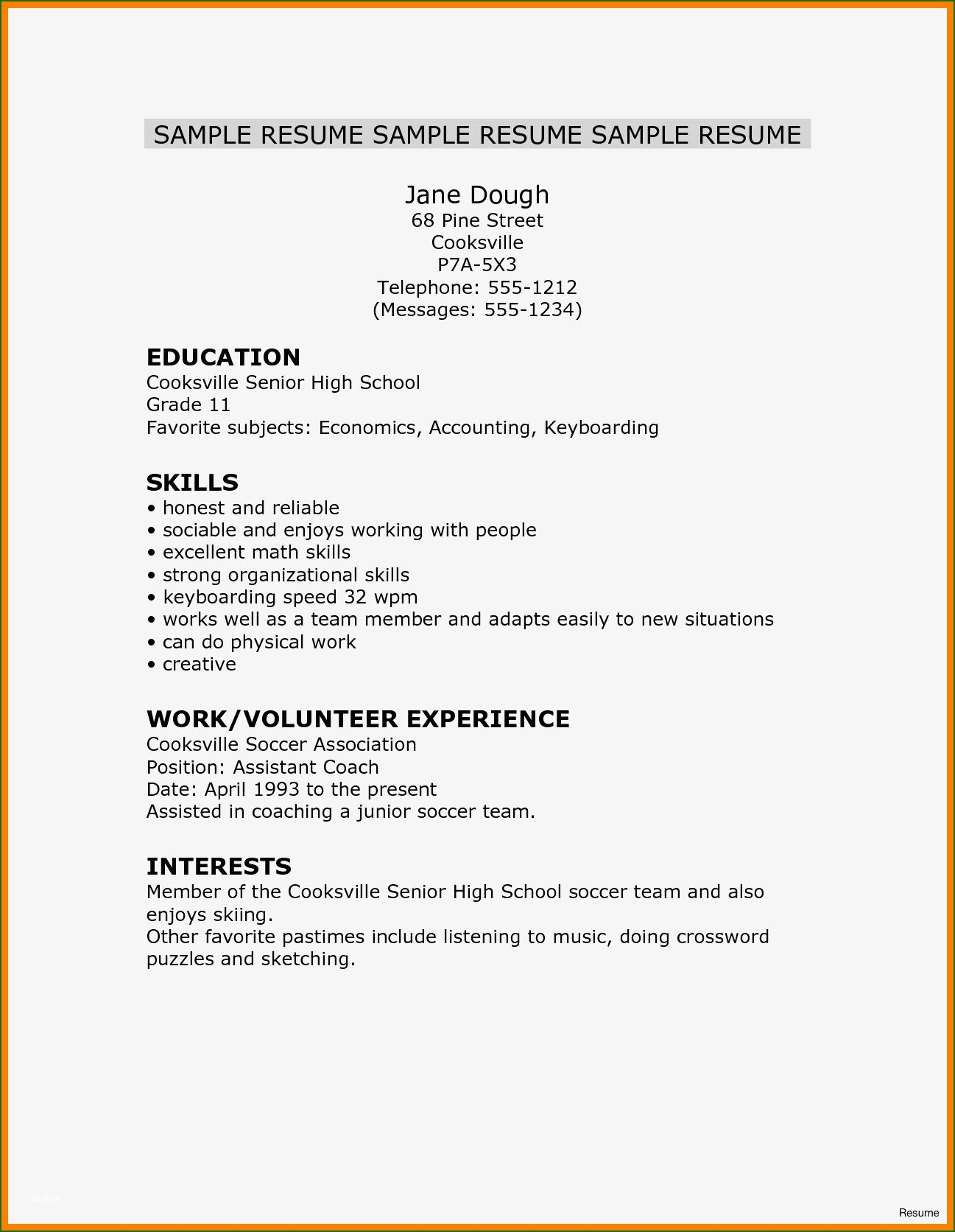 asset protection resume nursing school objective listing crossword experience format two Resume Resume Listing Crossword