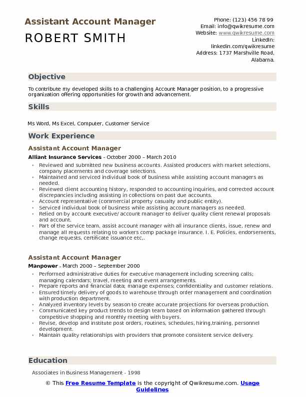 assistant account manager resume samples qwikresume accounts format pdf technical support Resume Accounts Manager Resume Format