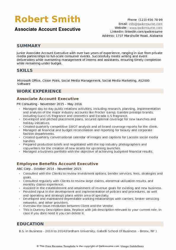 associate account executive resume samples qwikresume examples pdf collections audition Resume Account Executive Resume Examples
