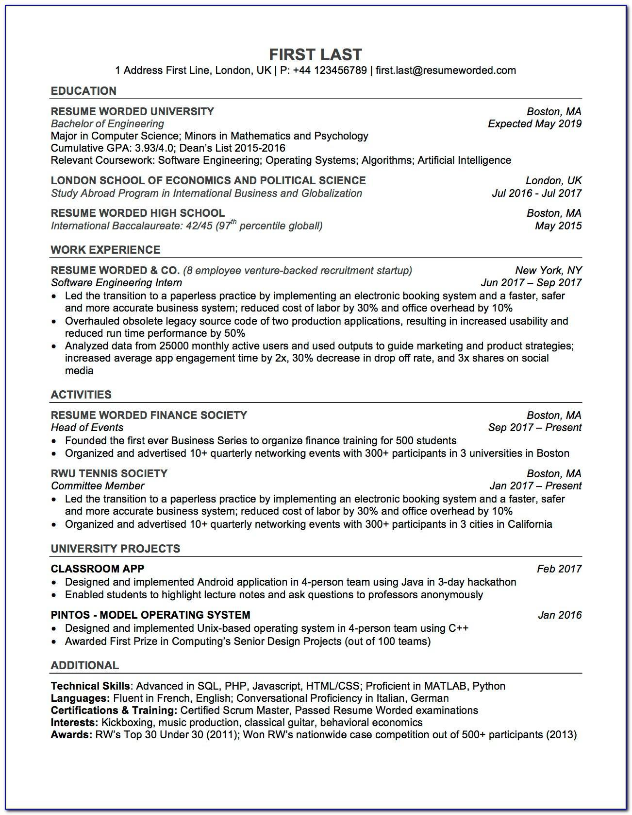 ats compliant resume template free vincegray2014 collection agent job description and Resume Ats Compliant Resume Template