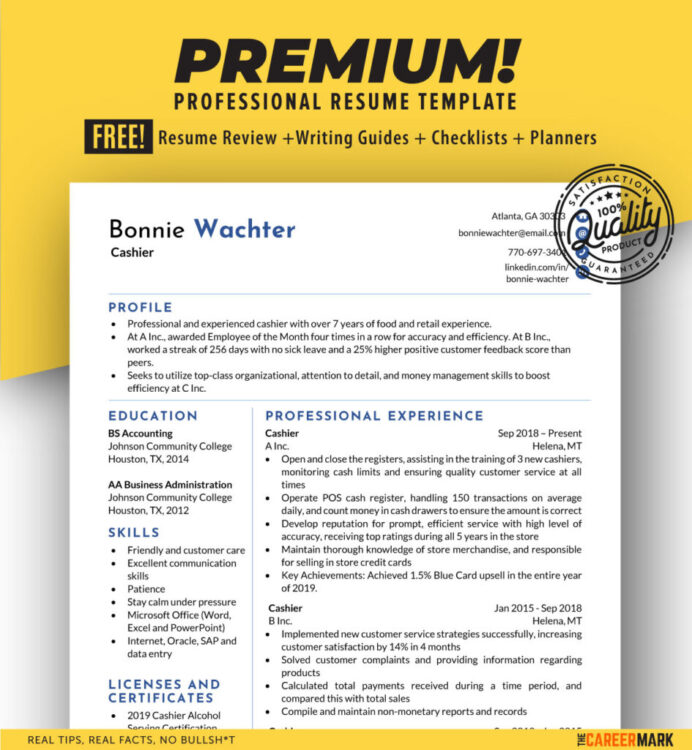 ats friendly cashier resume template the career mark convert to format temp7 945x1024 Resume Convert Resume To Ats Format