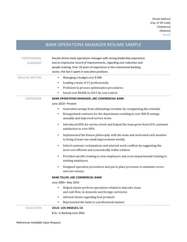 bank operations manager resume sample by builders medium mxeeixbncs tsi41 examples for Resume Bank Manager Resume Sample