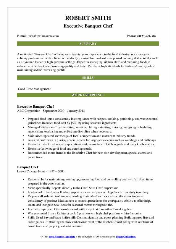 banquet chef resume samples qwikresume sample pdf buzzwords for back office job customer Resume Banquet Chef Resume Sample