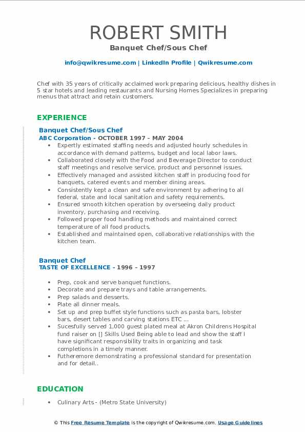 banquet chef resume samples qwikresume sample pdf buzzwords honors on statutory Resume Banquet Chef Resume Sample