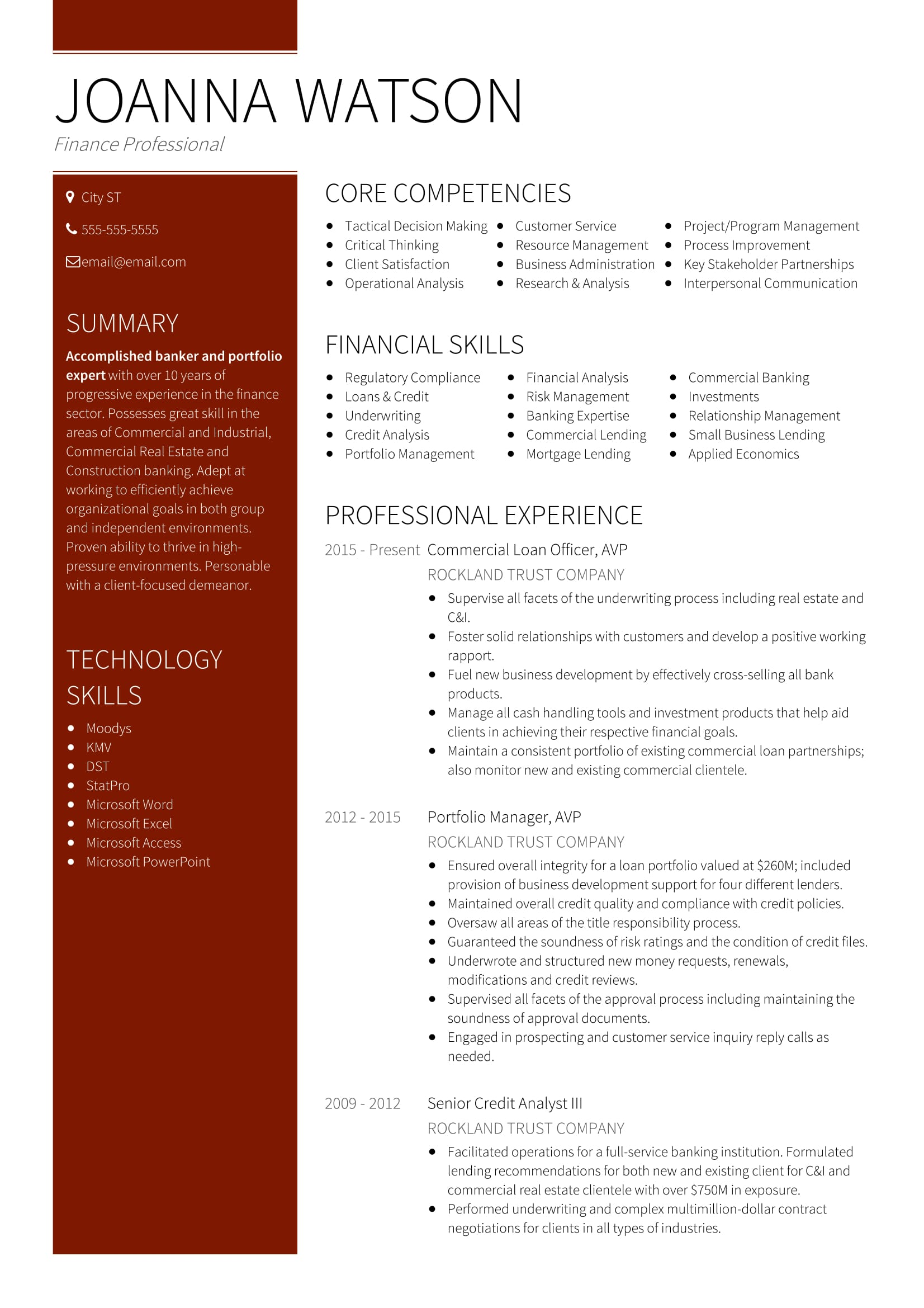 best banking sample resume templates wisestep industrial format team call center Resume Industrial Resume Format