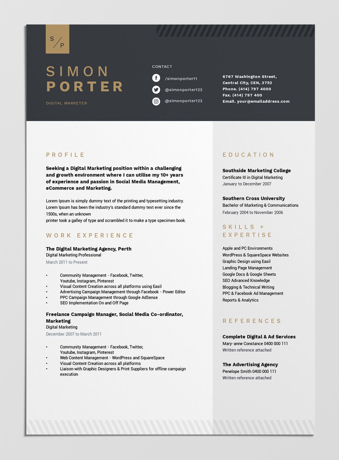 best free resume templates tips on to stand out easil template examples archive clerk Resume Best Resume Examples Free