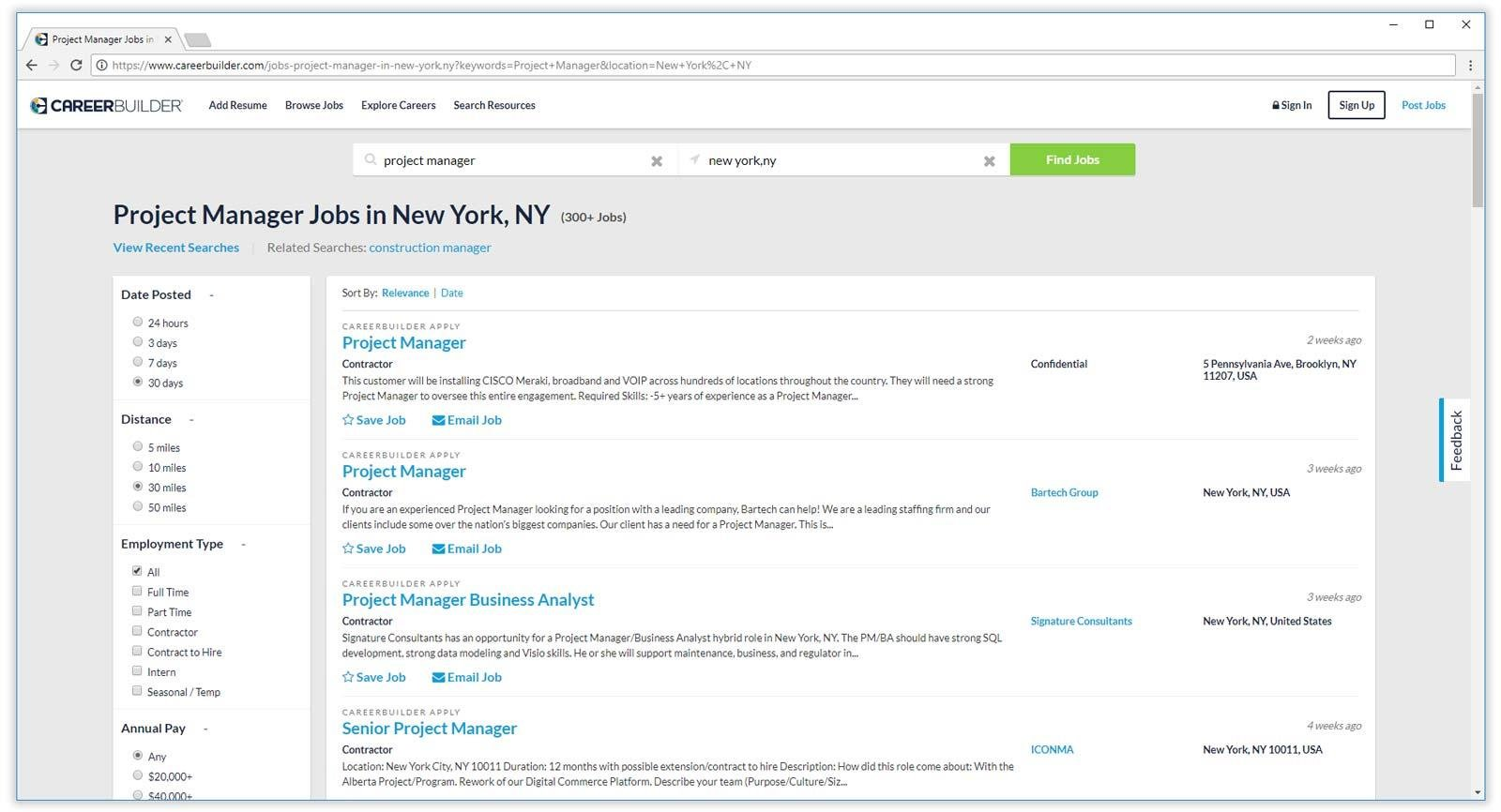 best job search engines boards for finding resume websites careerbuilder results product Resume Best Resume Search Websites