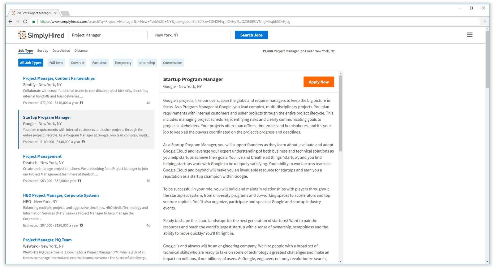 best job search engines boards for finding resume websites simplyhired professional Resume Best Resume Search Websites