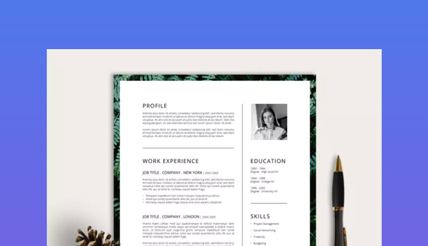 best photoshop resume cv templates photo formats adobe experience template bookkeeping Resume Adobe Photoshop Experience Resume