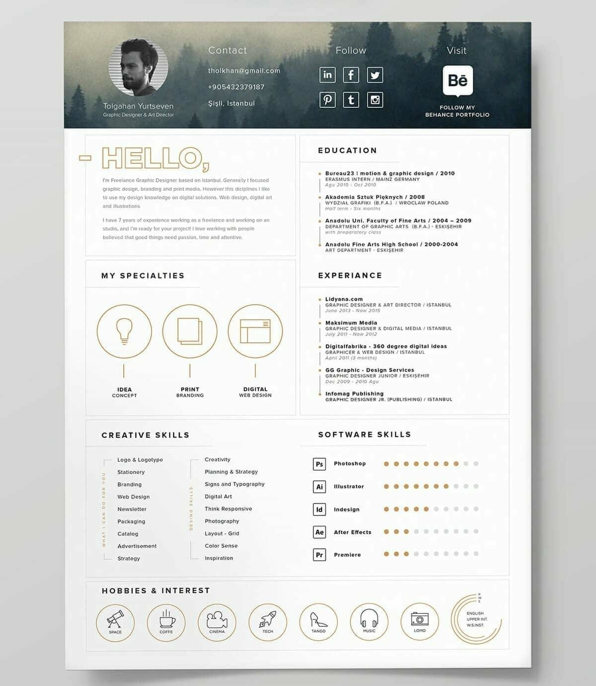 best resume templates for top picks to cv hostess experience on mass communication Resume Best Cv Resume Templates