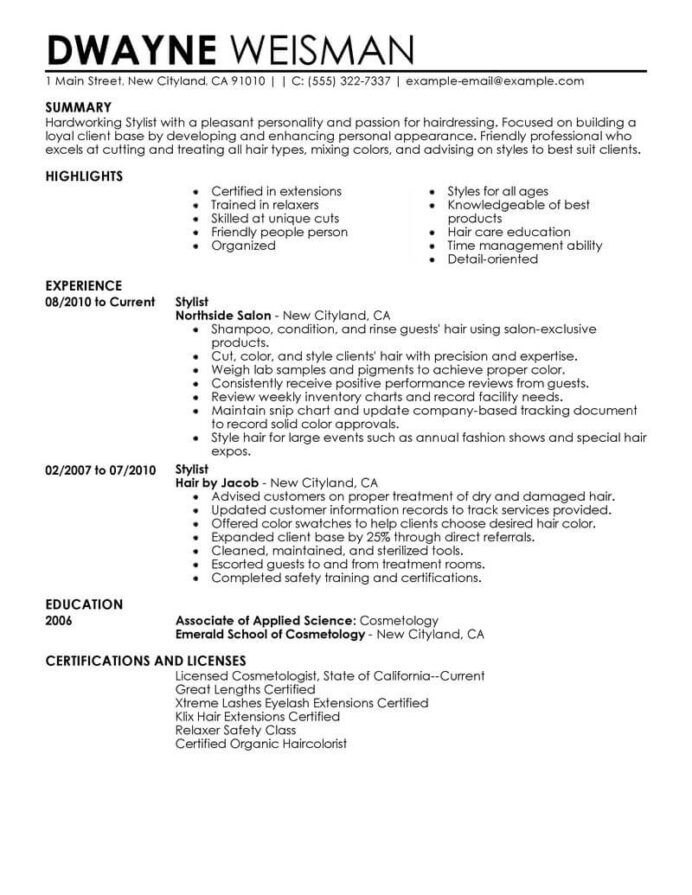 best stylist resume example livecareer fashion assistant salon spa fitness contemporary Resume Fashion Stylist Assistant Resume