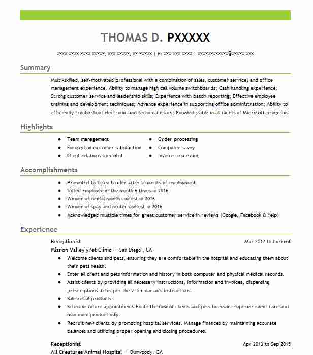 by receptionist resume samples format dental fraud illegal experience examples mock for Resume Dental Receptionist Resume