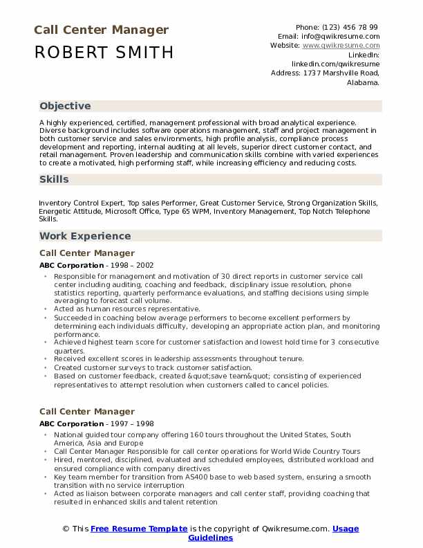 call center manager resume samples qwikresume customer service profile pdf thank you for Resume Customer Service Resume Profile