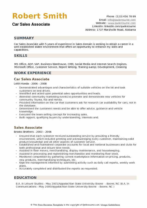 car associate resume samples qwikresume statements examples pdf for masters application Resume Car Statements Resume Examples