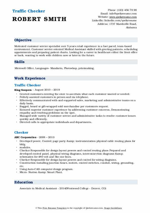 checker resume samples qwikresume professional pdf limousine chauffeur relevant courses Resume Professional Resume Checker