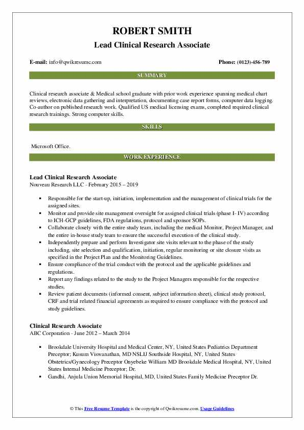 clinical research associate resume samples qwikresume pdf linkedin icon for home health Resume Research Associate Resume