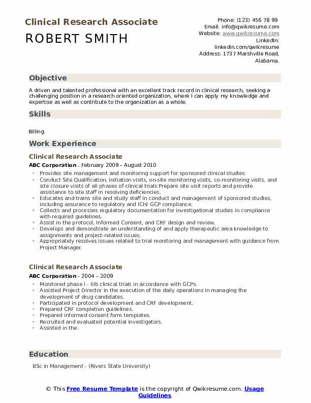 clinical research associate resume samples qwikresume pdf sample for kitchen staff data Resume Clinical Research Resume