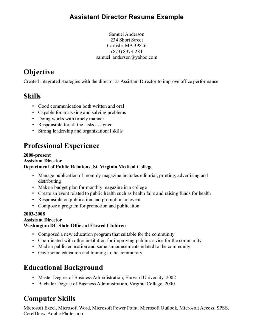 communication skills resume examplecareer template career section objective examples Resume Strong Communication Skills Resume