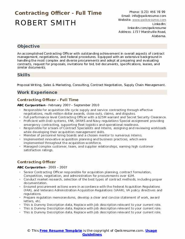 contracting officer resume samples qwikresume federal contractor pdf industrial insulator Resume Federal Contractor Resume