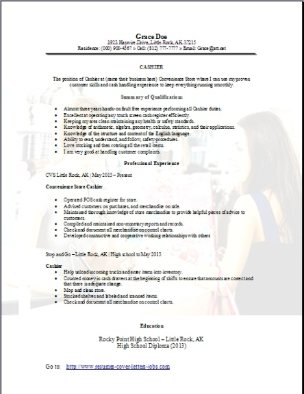 convenience store cashier resume occupational examples samples free edit with word Resume Walgreens Cashier Job Description Resume