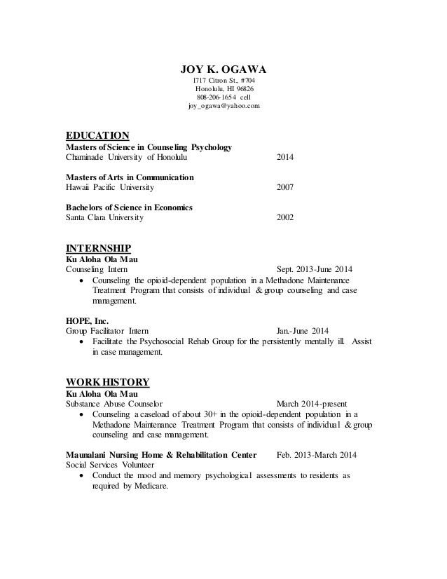 counseling resume of psychologist context action result examples entry level loan Resume Resume Of A Counseling Psychologist