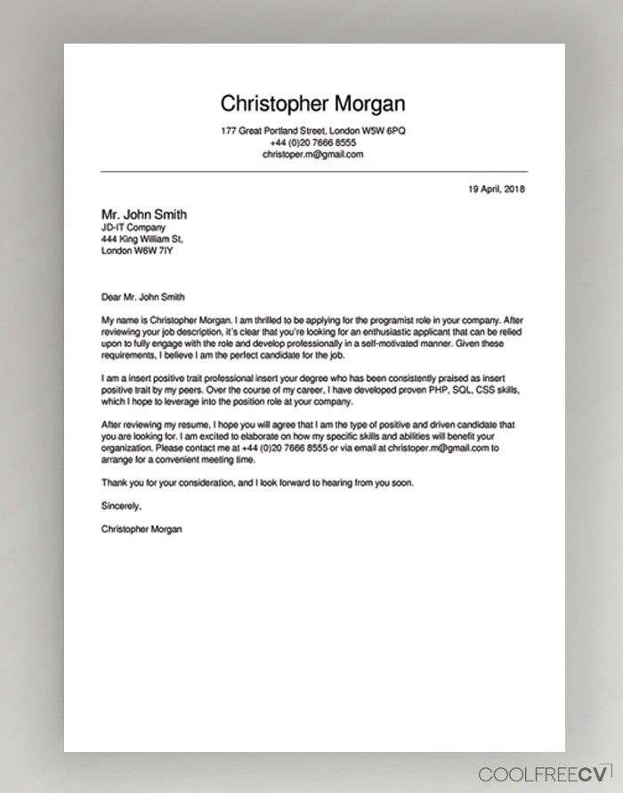 cover letter maker creator template samples to pdf resume example senior instructional Resume Resume Cover Page Maker