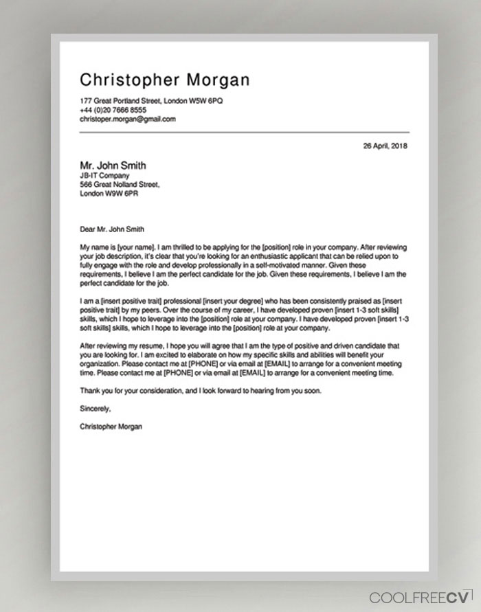cover letter maker creator template samples to pdf resume frame photography skills Resume Resume Cover Page Maker