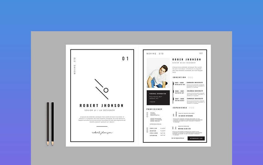 creative dynamic resume cv templates for professional jobs in template best free builder Resume Professional Resume Cv Template