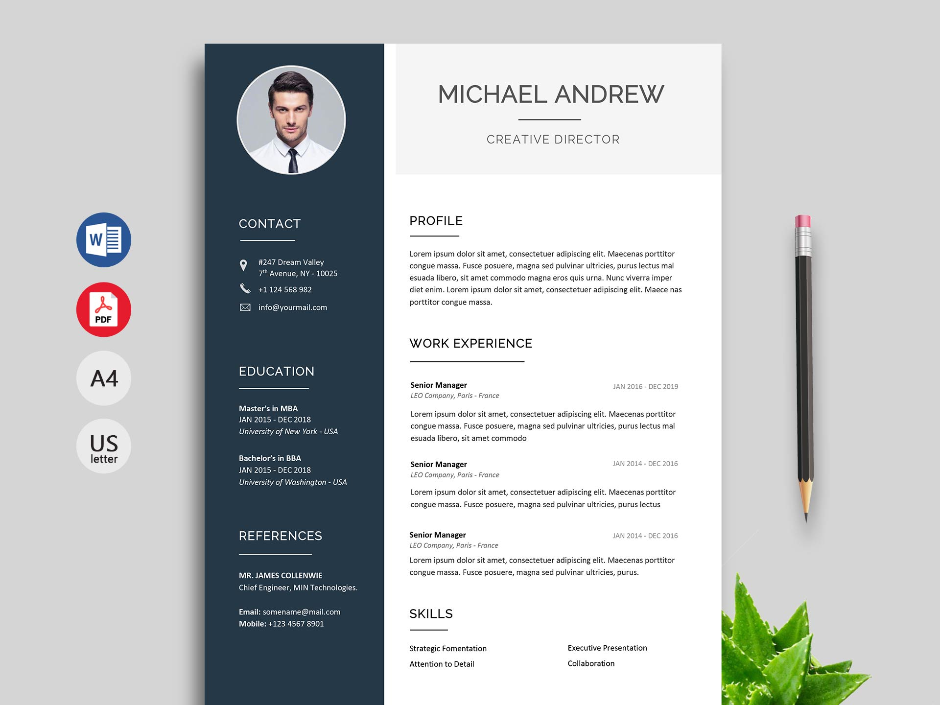 creative resume cv template free resumekraft format prime when does the impeachment trial Resume Resume Format Template Free