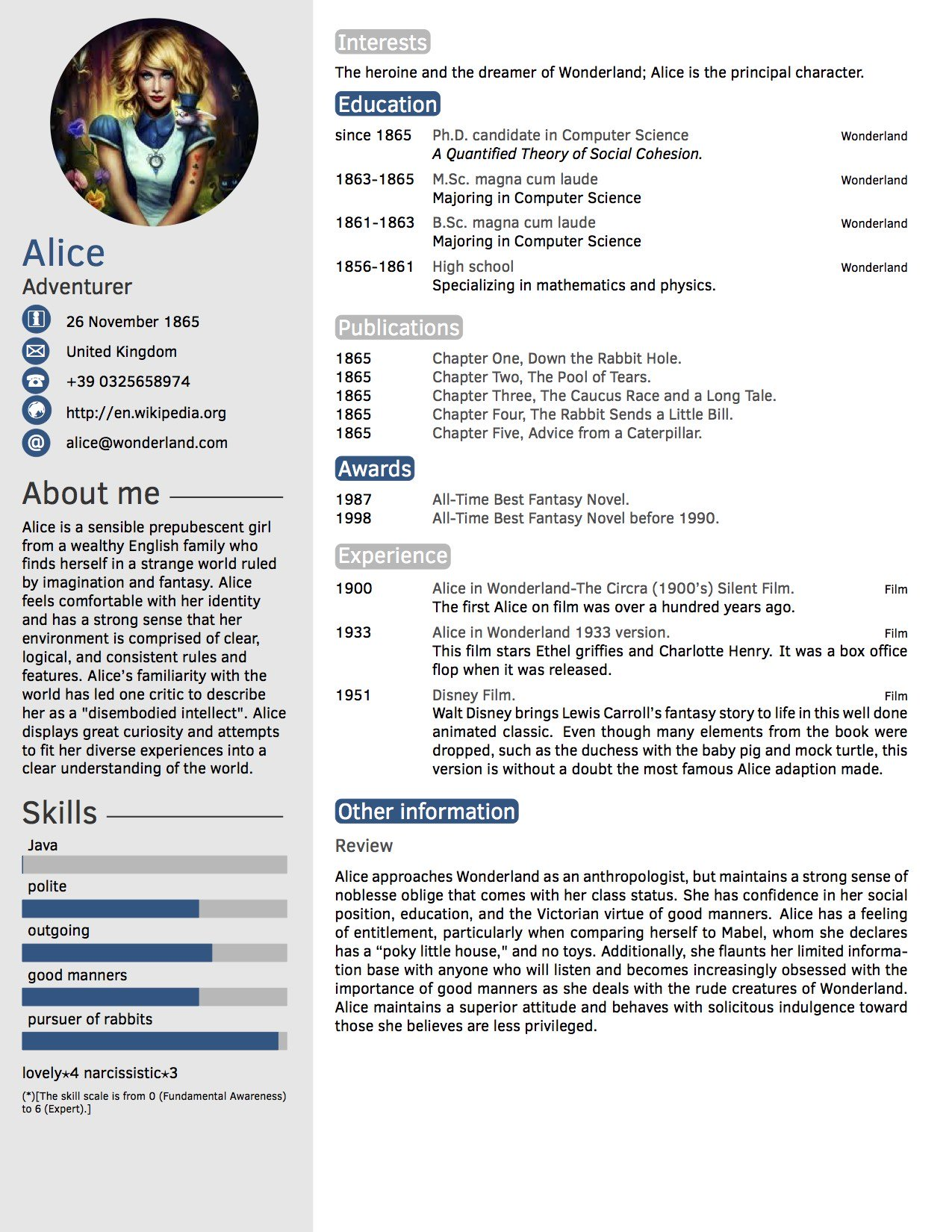 cv in tabular form resume format templates wisestep the perfect template leadership Resume The Perfect Resume Template