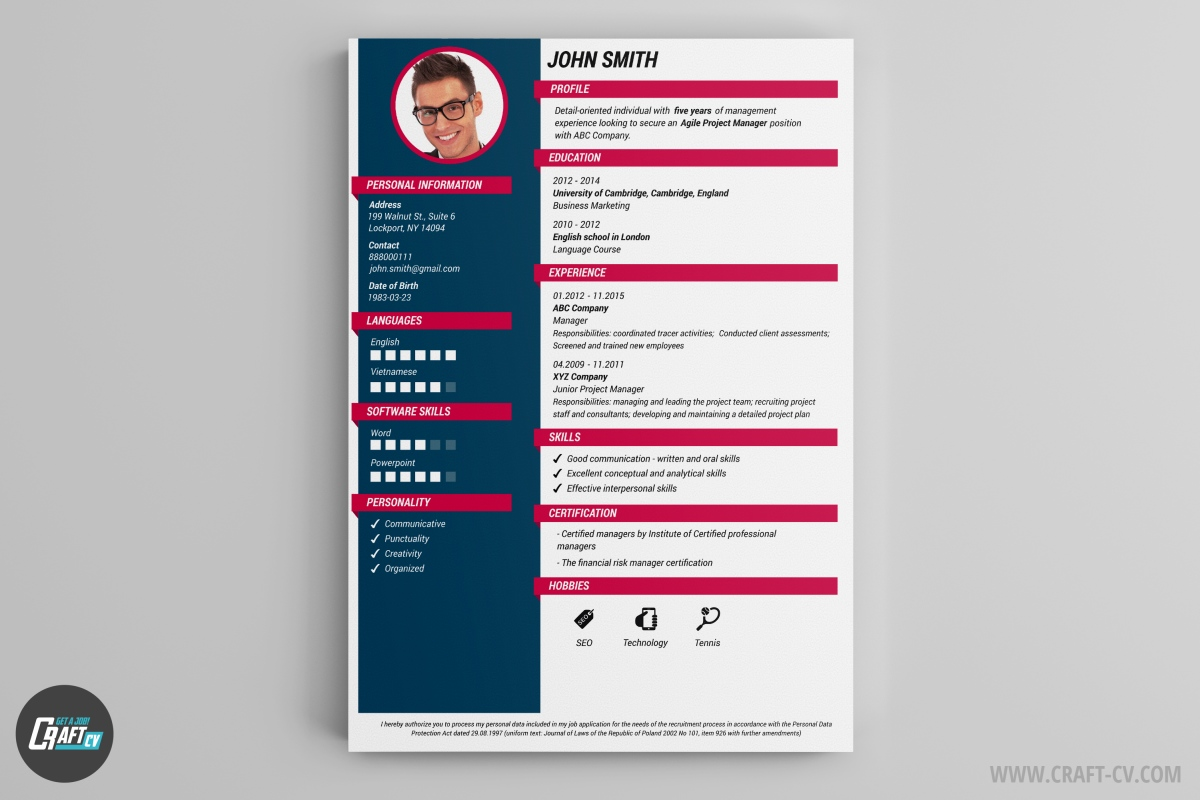 cv maker professional examples builder craftcv resume editor free templates word military Resume Online Resume Editor Free