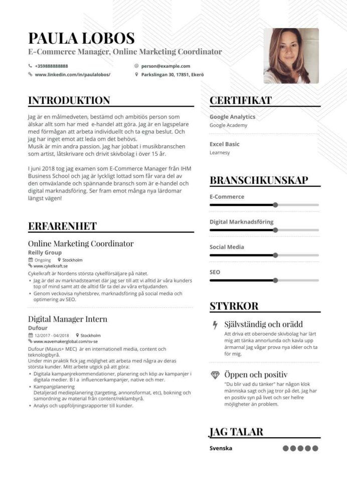 ecommerce marketing resume examples pro tips featured enhancv description for template Resume Ecommerce Description For Resume