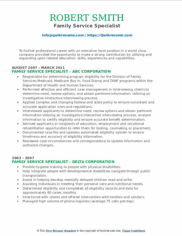 economic support specialist resume samples qwikresume family service pdf objective for Resume Economic Support Specialist Resume