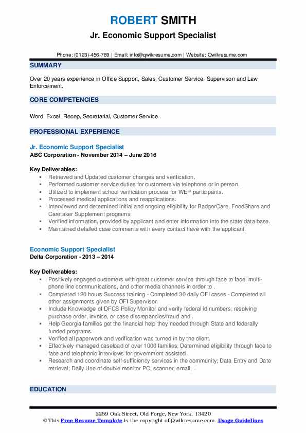 economic support specialist resume samples qwikresume pdf linux system administrator good Resume Economic Support Specialist Resume