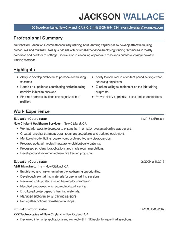 education combination resume samples examples format templates help putting together step Resume Putting Together A Resume Step By Step
